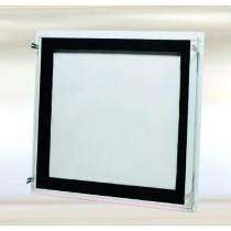 System B3 – Revisionklappe Stahlblech mit Rundzylinder-Hebelschloss luft-und staubdicht